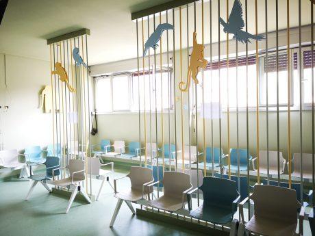 sala di attesa ps